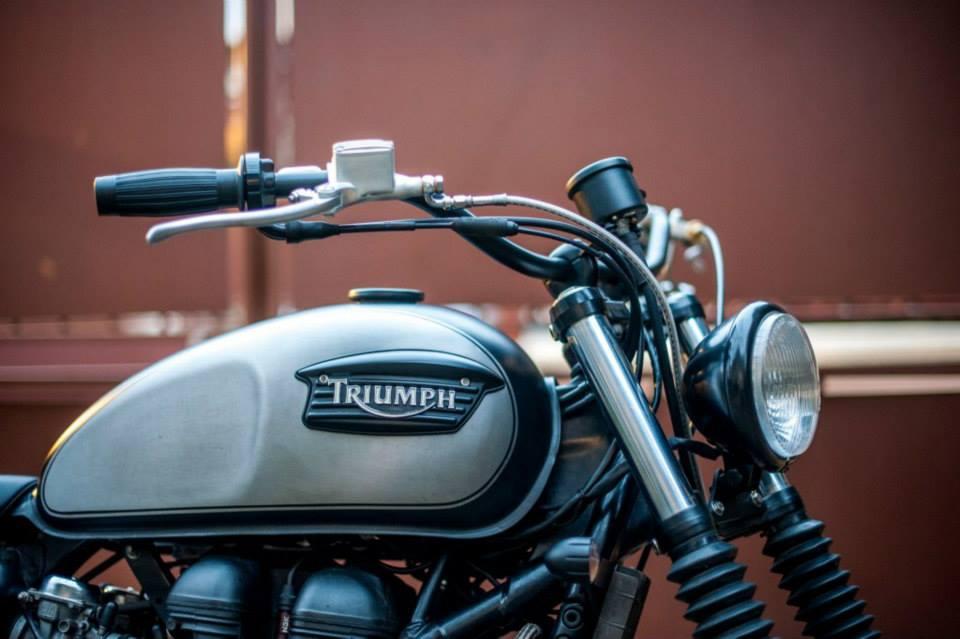 Triumph Scrambler Tendance Roadster