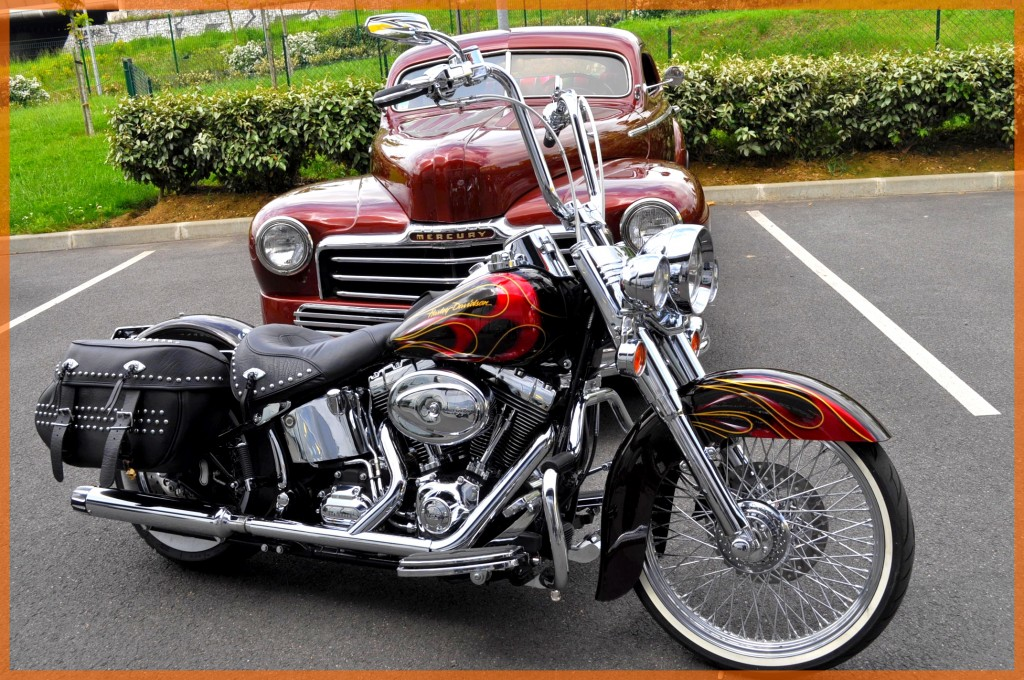 Softail Flames Borie