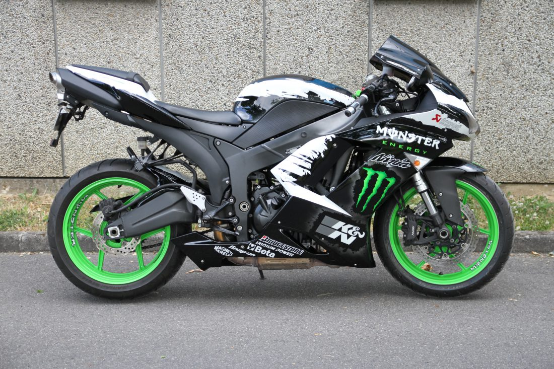 Zx 6 r monster energy jrm colors - Image moto sportive ...
