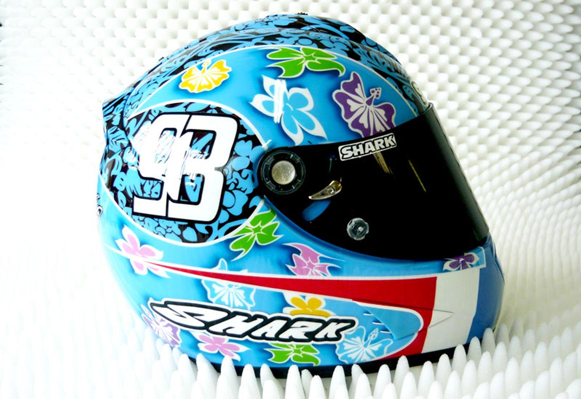 Casque Shark Tiki
