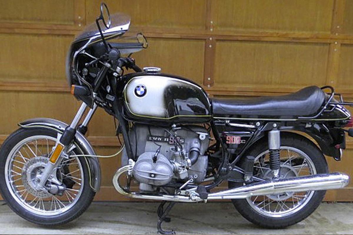 BMW 900cc restauration / peinture