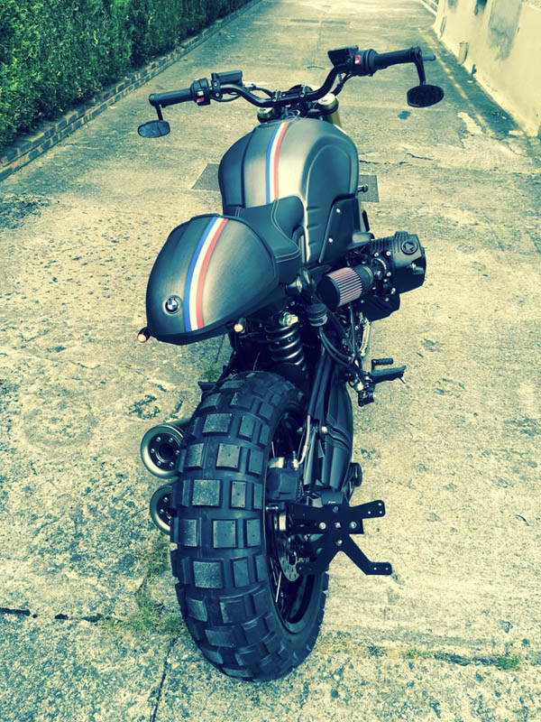 BMW Nine T Black Metal