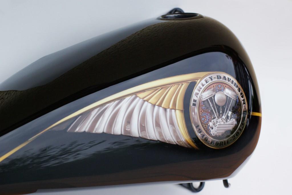 Harley Davidson Wings Borie