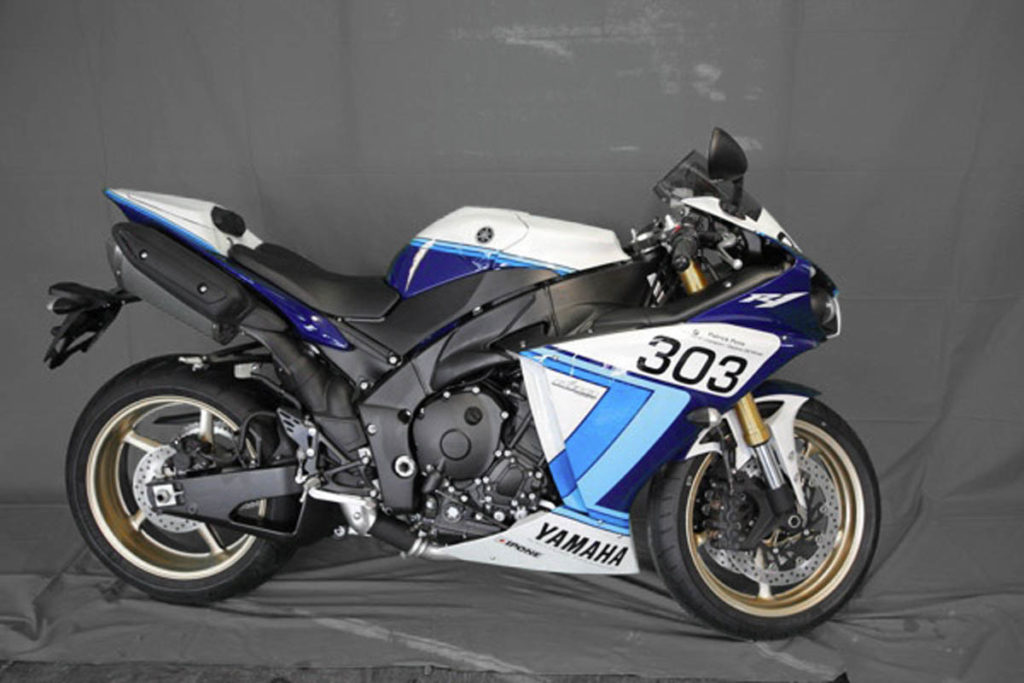 Yamaha R1 Patrick Pons