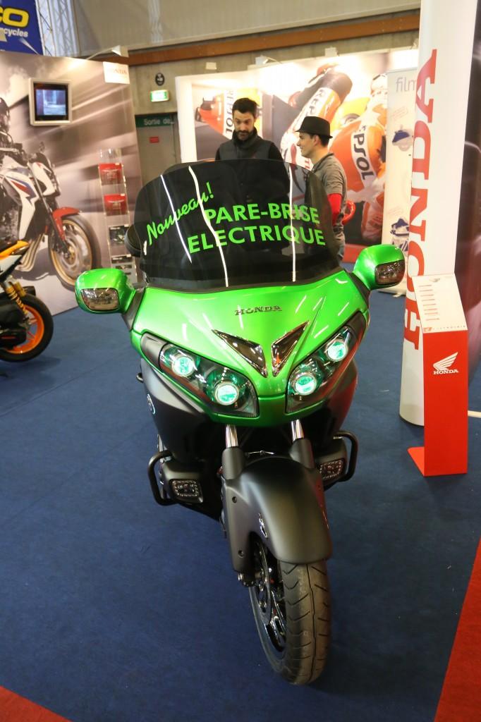 Honda Goldwing Starbike vert candy
